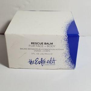 The Estee Edit Rescue balm for face + body.